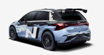 La nuova Hyundai i20 Rally2 mostra il suo volto.