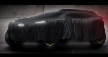 Audi rivela la sua nuova sfida 4 x 4 alla Dakar 2022.