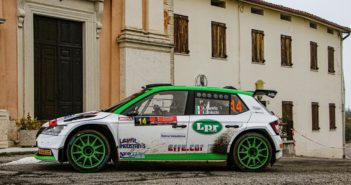 Andrea Carella la medaglia d'argento del campionato italiano WRC