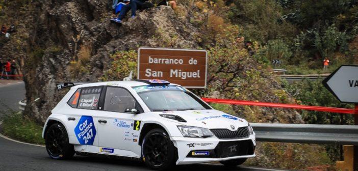 Ingram in azione sulle strade delle Canarie la stagione passata.