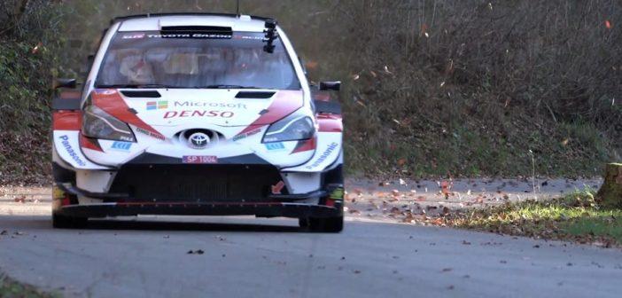 Rovanpera sulle strade del Friuli nei test pre Monza.