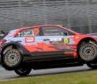 Un passaggio spettacolare di Breen nel Monza Rally Show 2019.