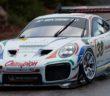 La Porsche di Romain Dumas vincitore della Time Attack.