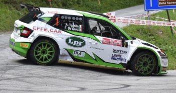 I leader del CI WRC fino a questo momento, Carella e De Guio.